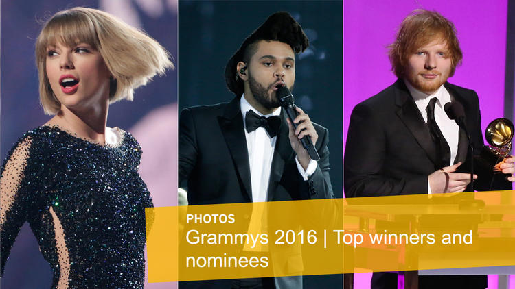Grammys 2016: Top winner and nominees