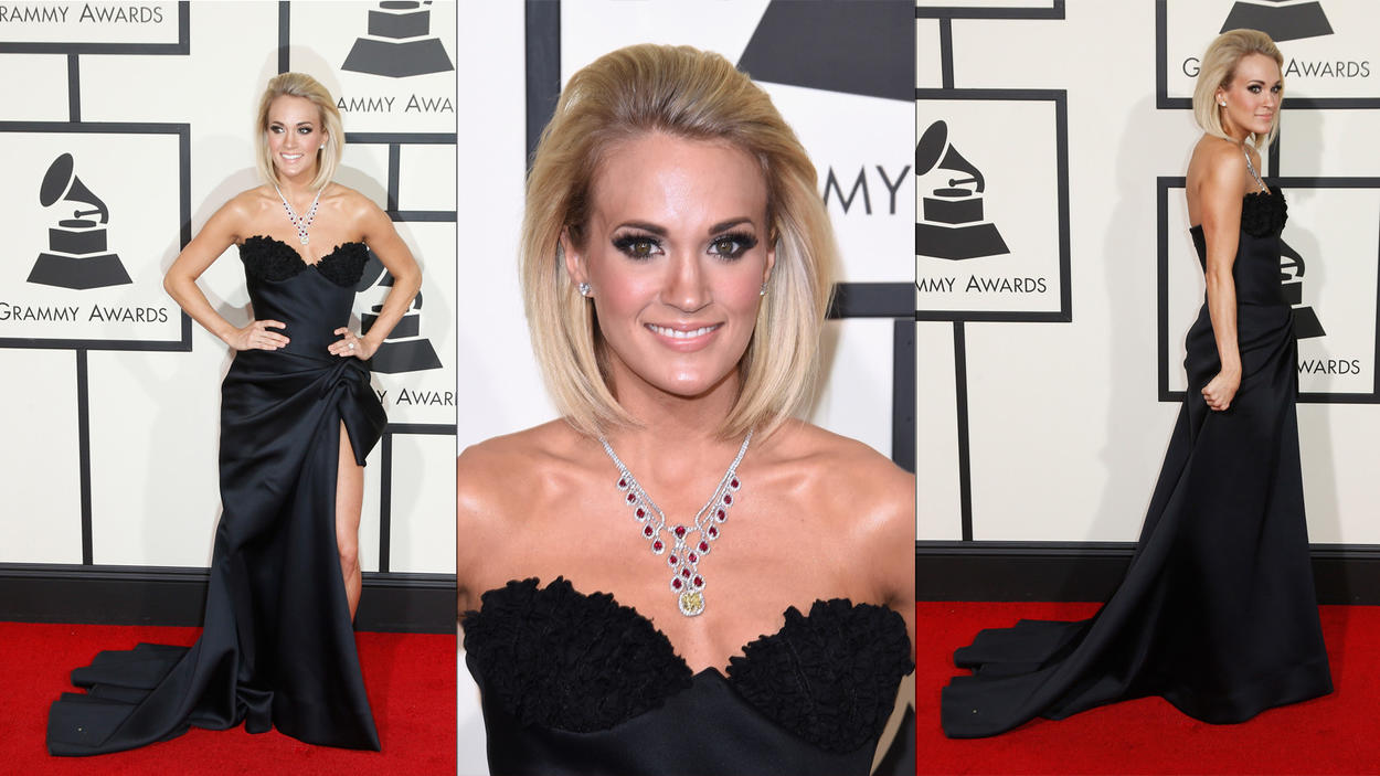 Wedding Guest Glam - Winning Trends from the 2016 Grammys' as featured on Creme de la Bride