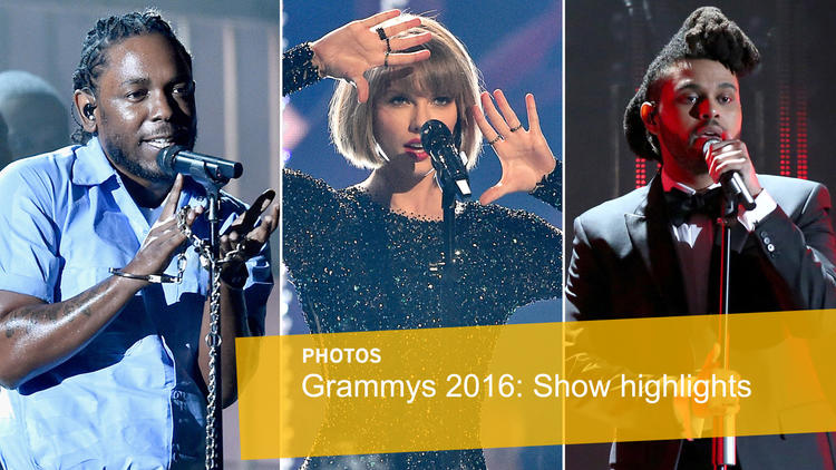 Grammys 2016: Show highlights
