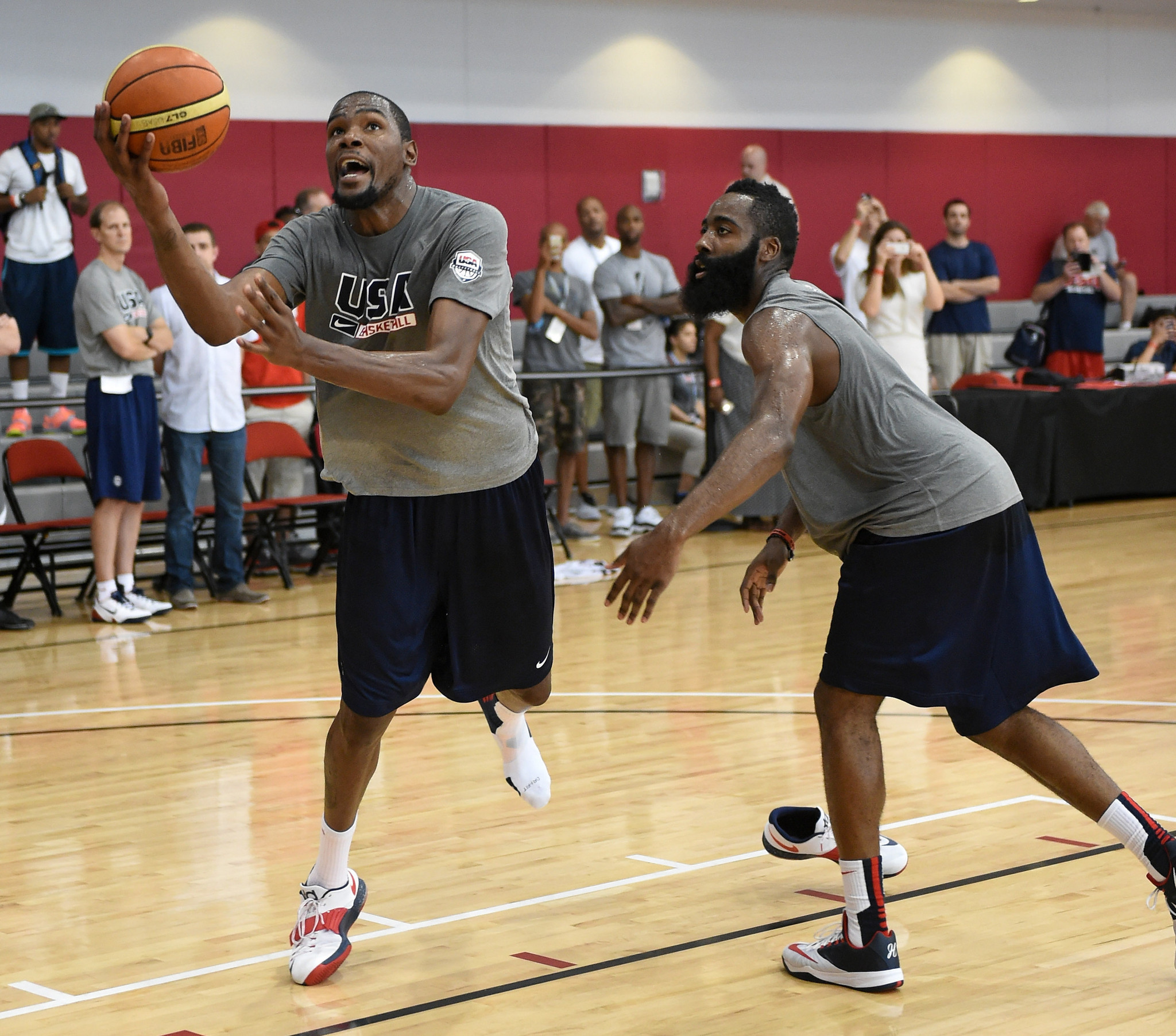 James Harden Quadruple Team: Picking Olympic Roster Is Tough Task For U.S. Men's