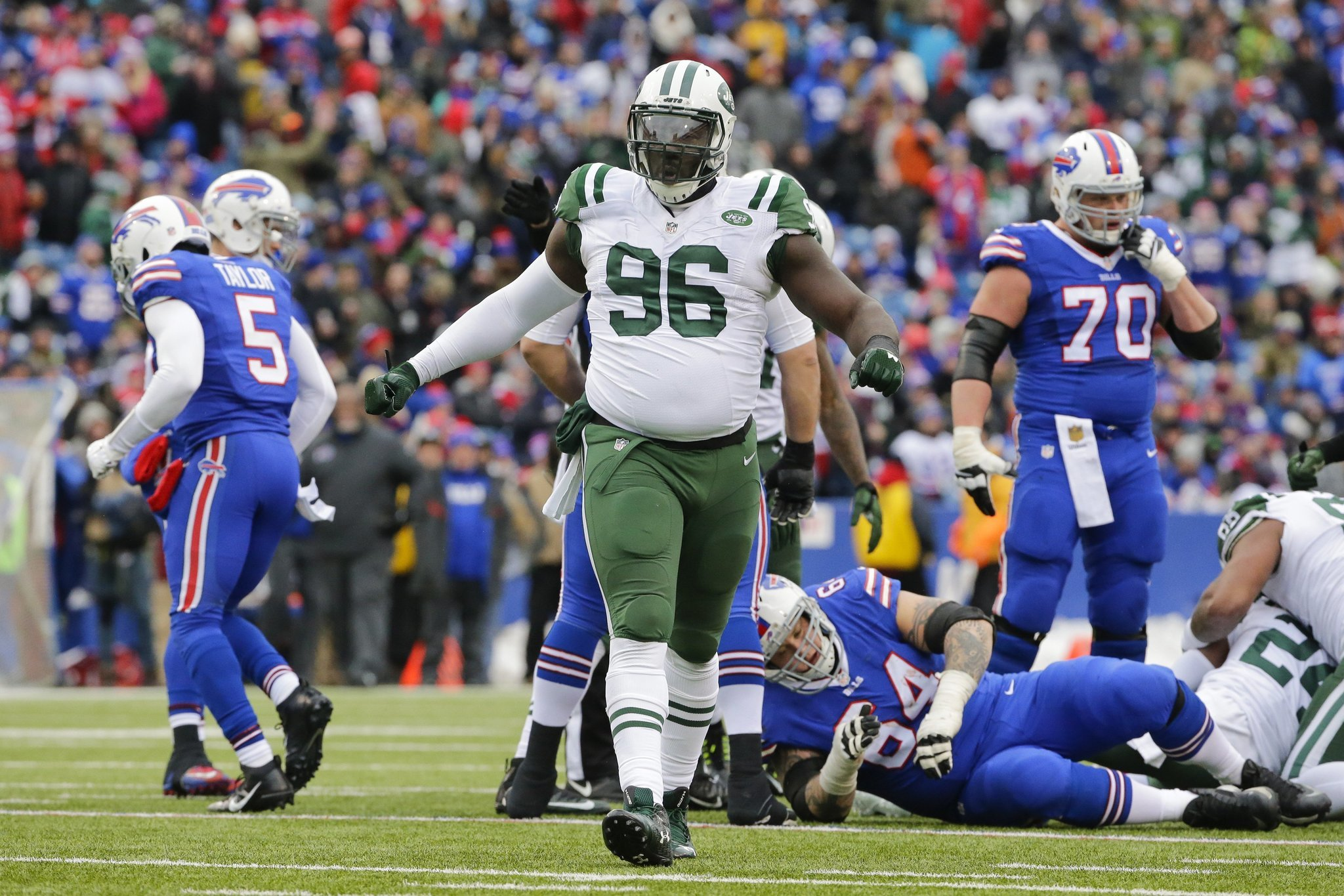 If Jets franchise tag Muhammad Wilkerson could Bears do a trade