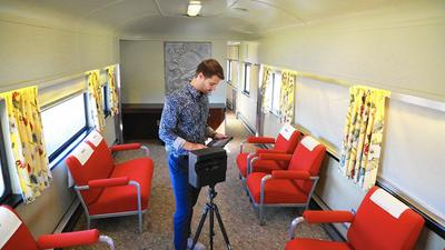Virtual tour gives viewers 3-D look at Boca's train museum