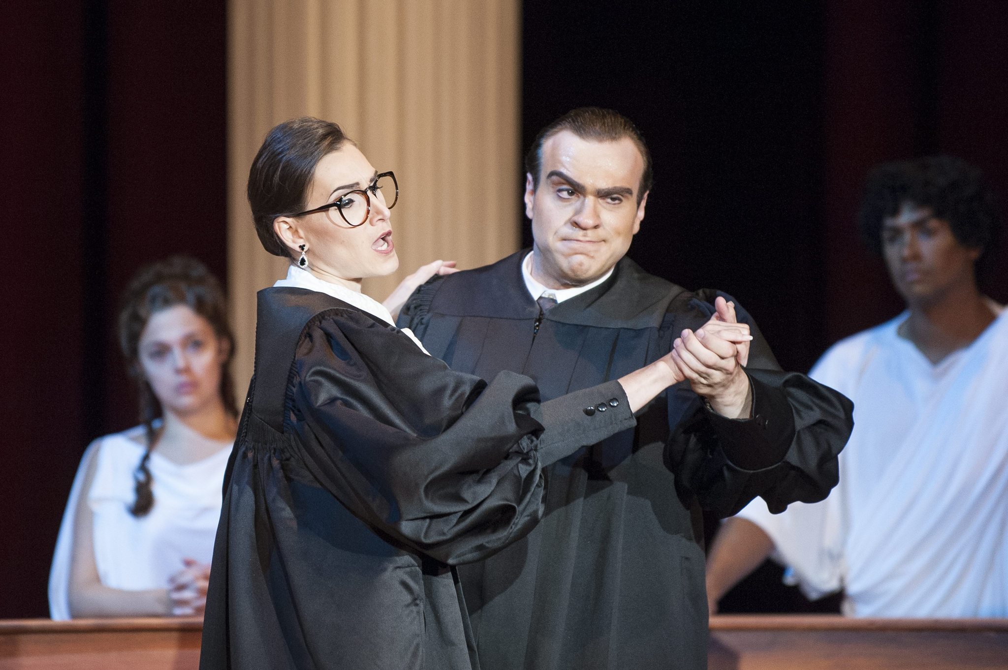 what is unique about scalia and ginsburg relationship