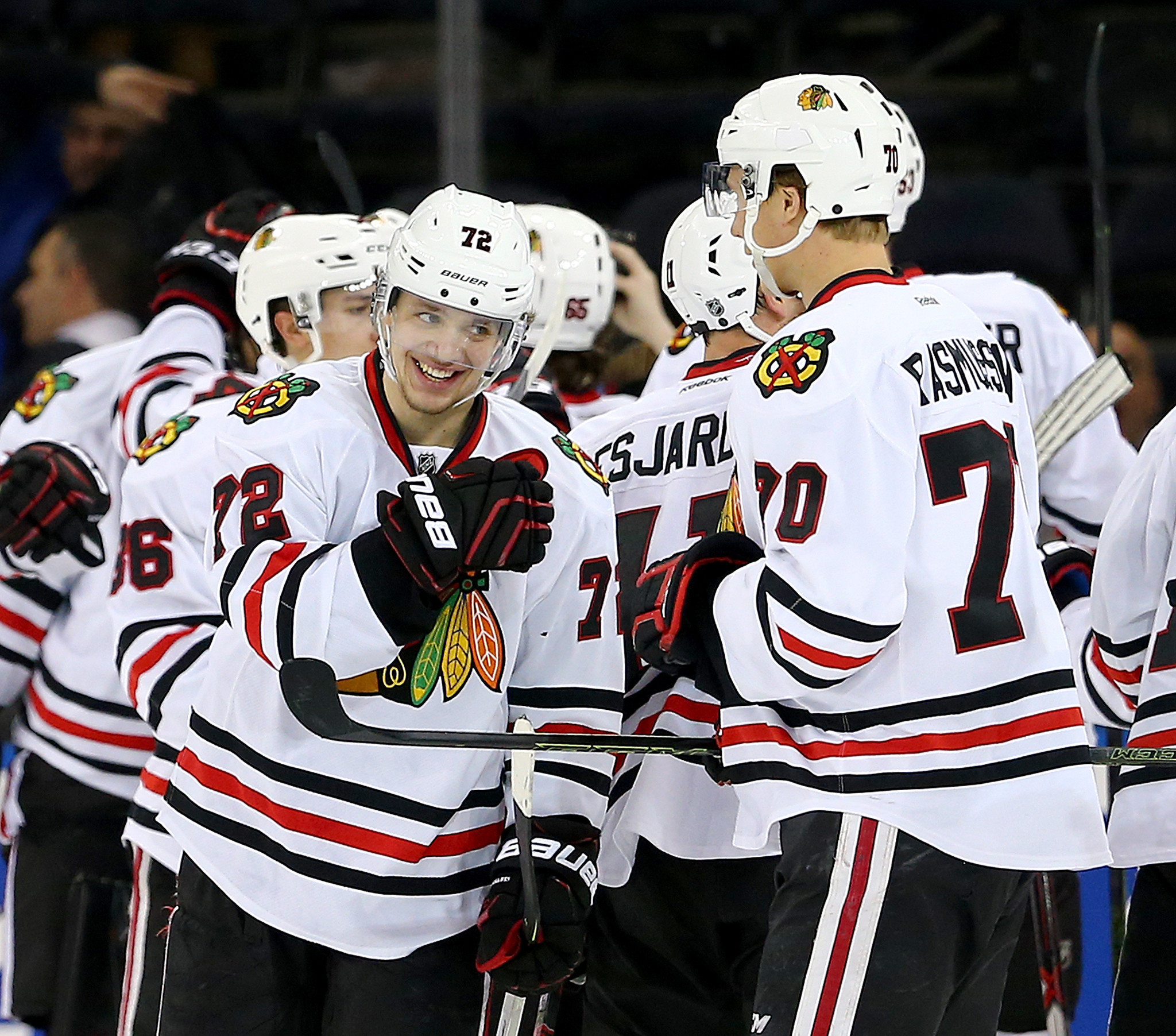 Observations from the Blackhawks' 5-3 win
