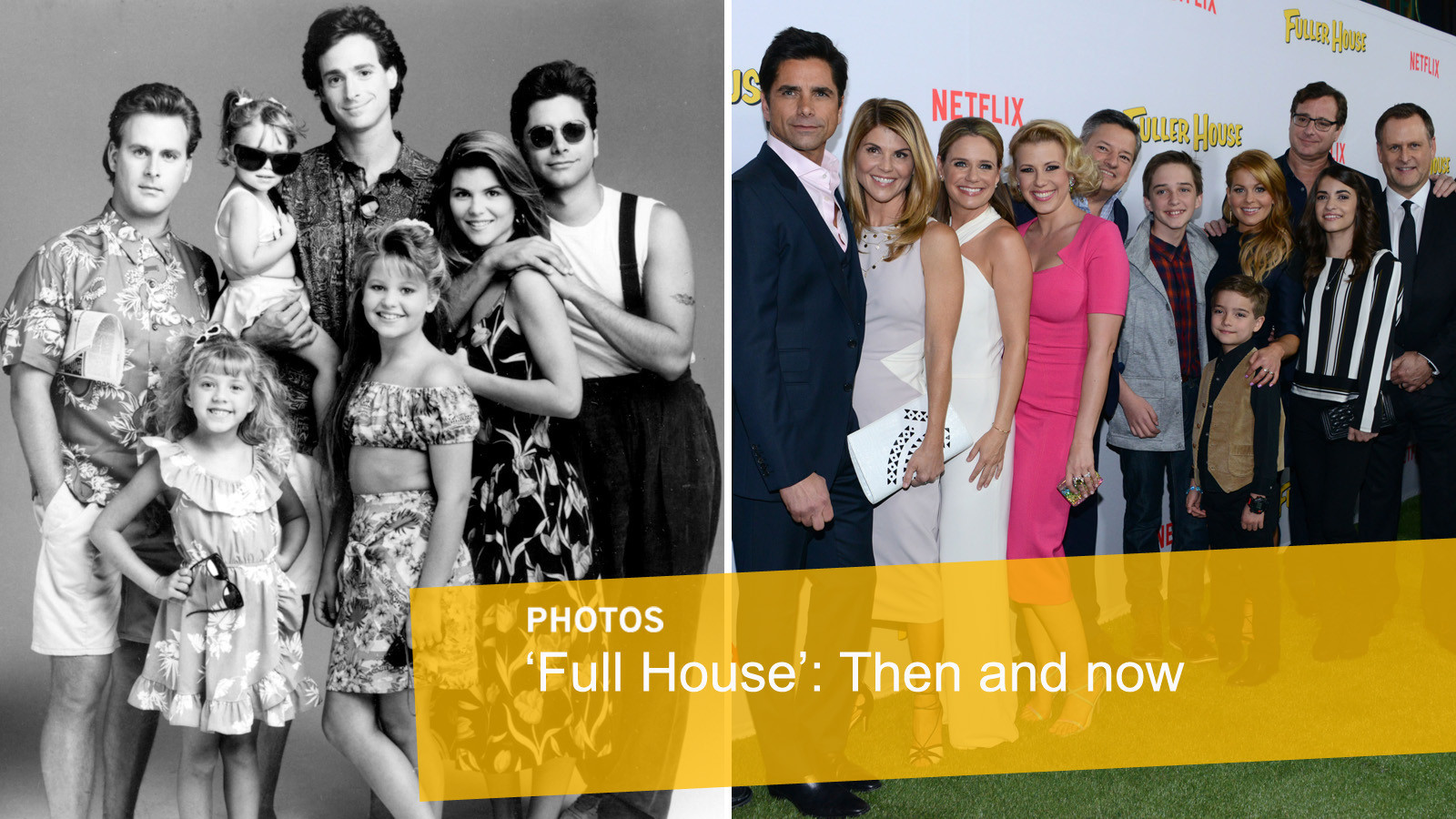 fuller house then and now la times