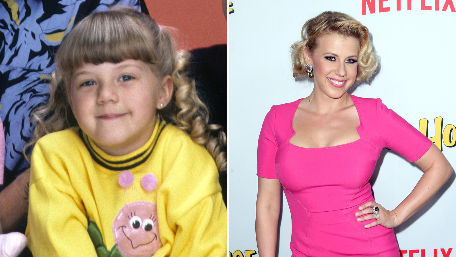 Jodie Sweetin played Stephanie Tanner.