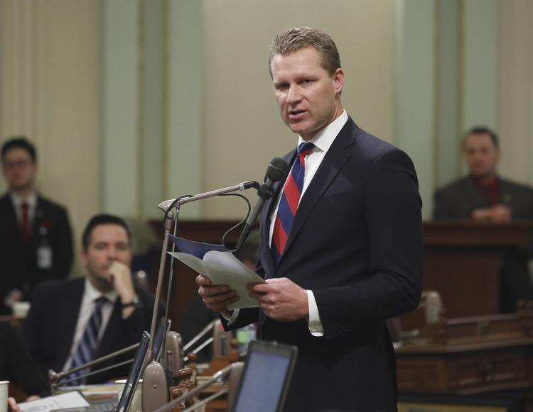 Assembly Republican Leader Chad Mayes (R-Yucca Valley) (Rich Pedroncelli / Associated Press)
