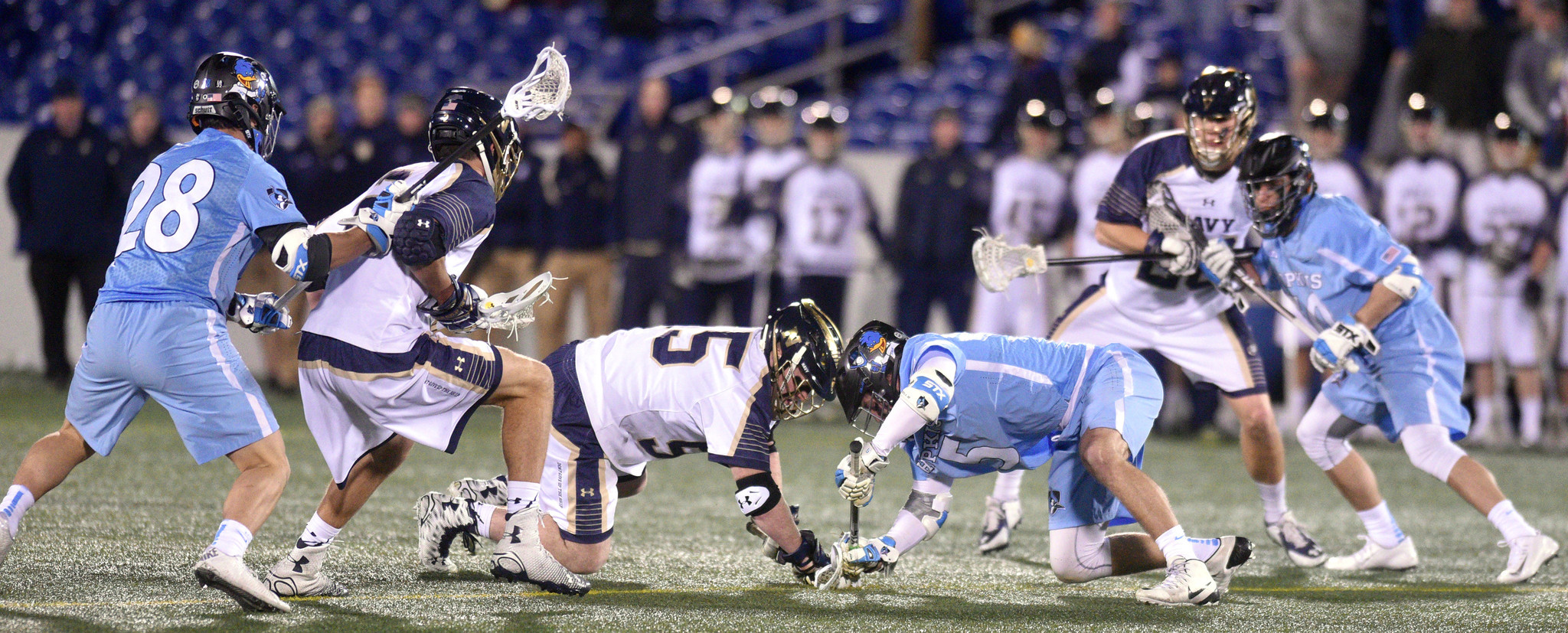 Brady Dove's one-game hiccup on faceoffs hasn't changed Navy coach Rick Sowell's opinion