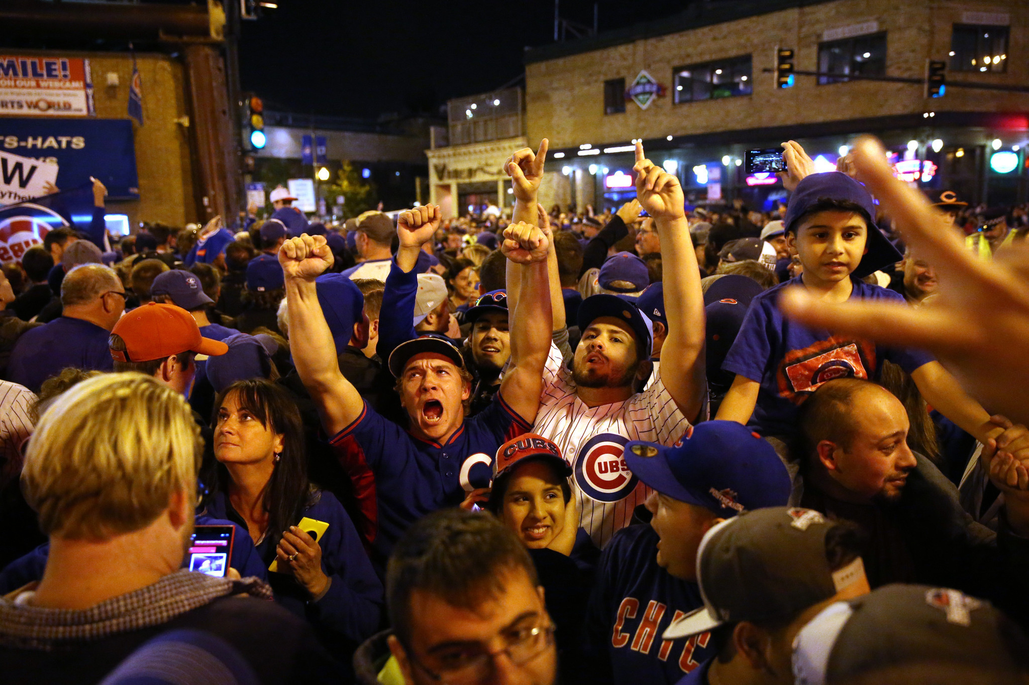 Its early but you cant rain on Cubs parade of dreams Chicago