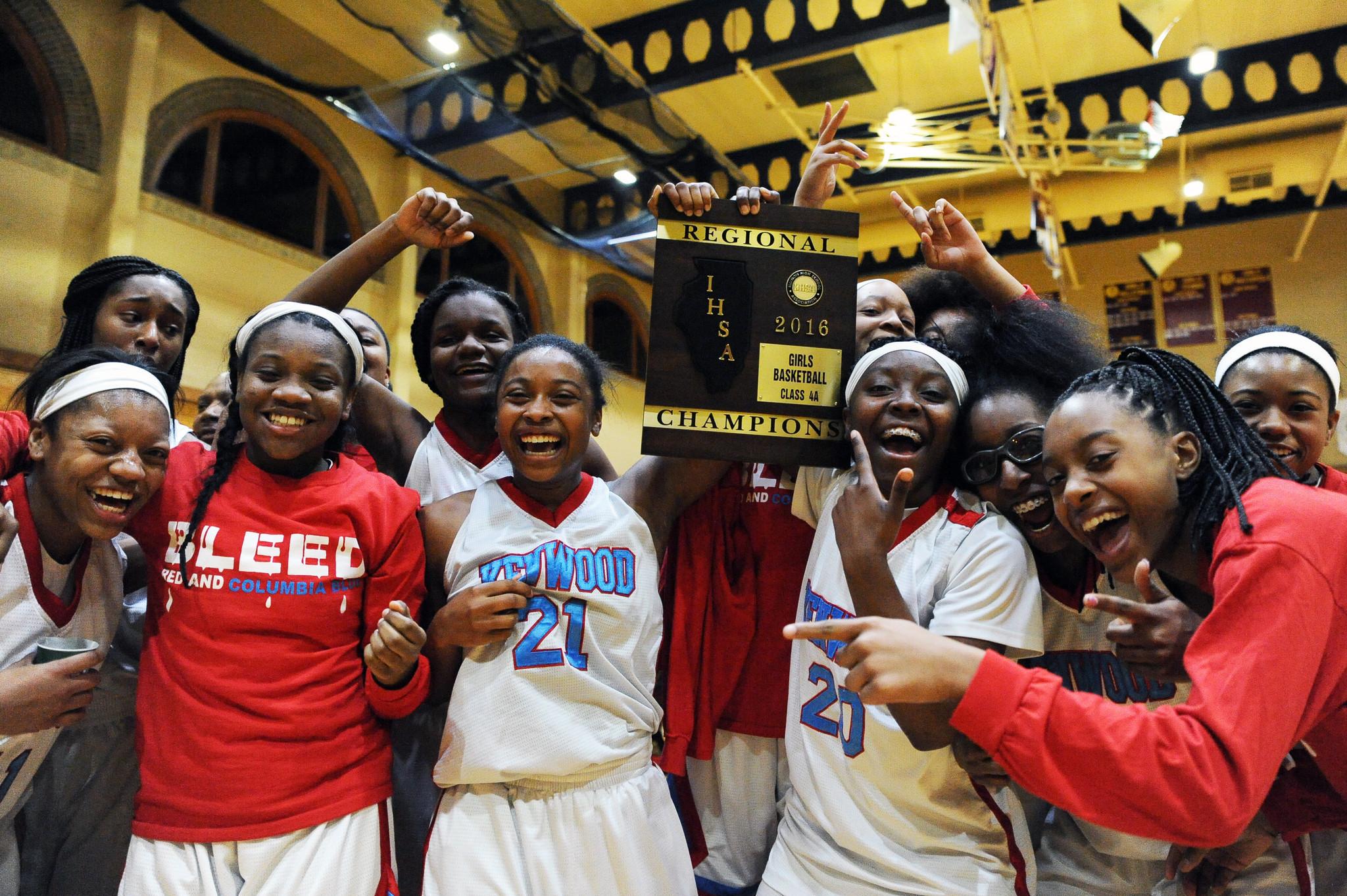 basketball: Kenwood edges Downers Grove North No. 18 Girls