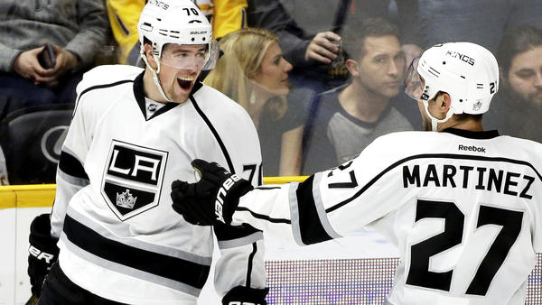 Tanner Pearson Scores In Overtime To Lead Kings To 2-1 Win Over Predators