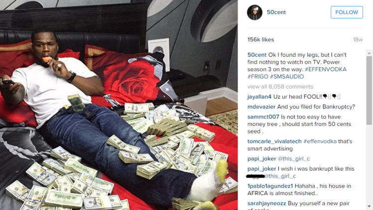 50 Cent Instagram Photo