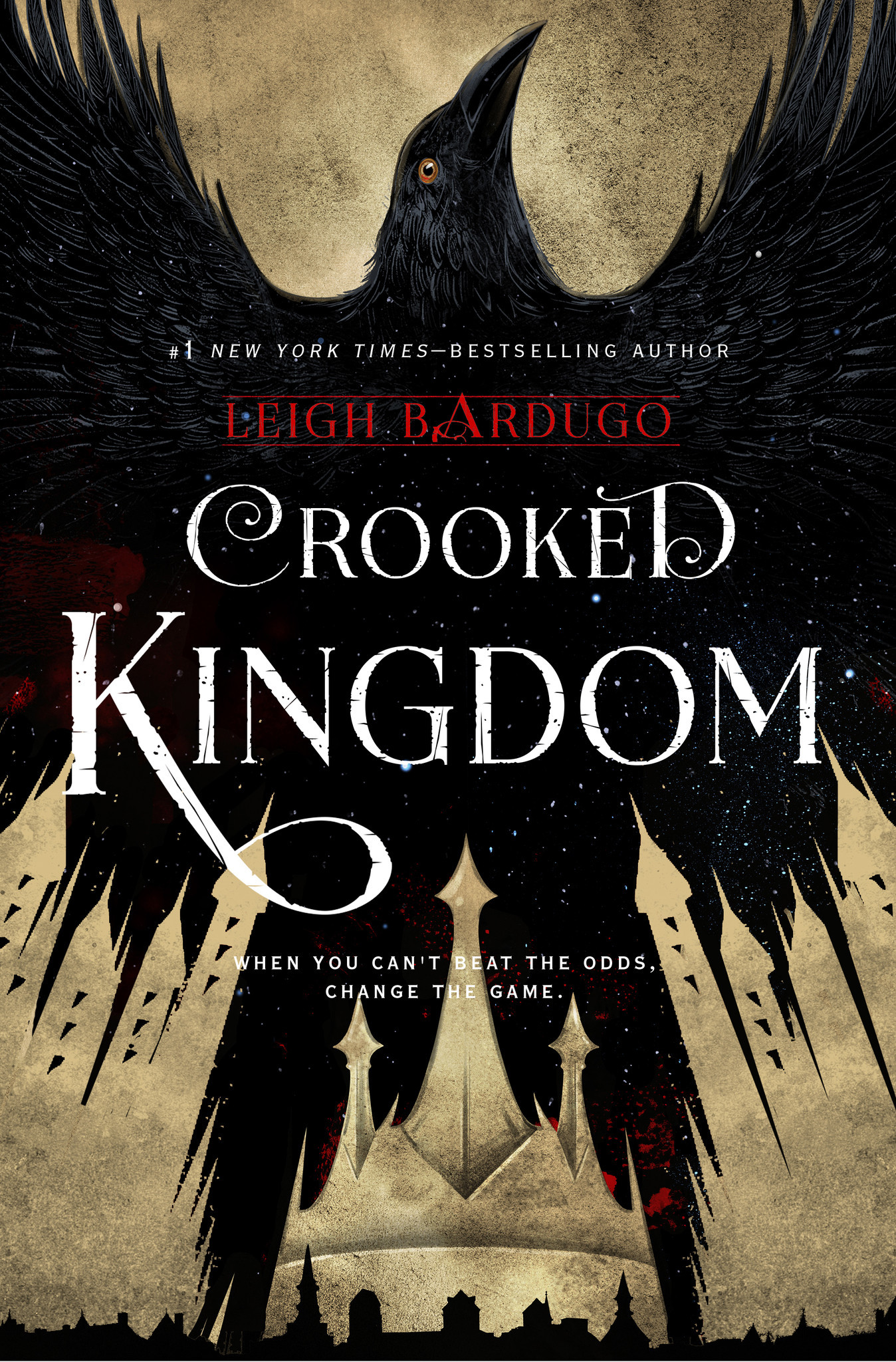 Image result for crooked kingdom book cover