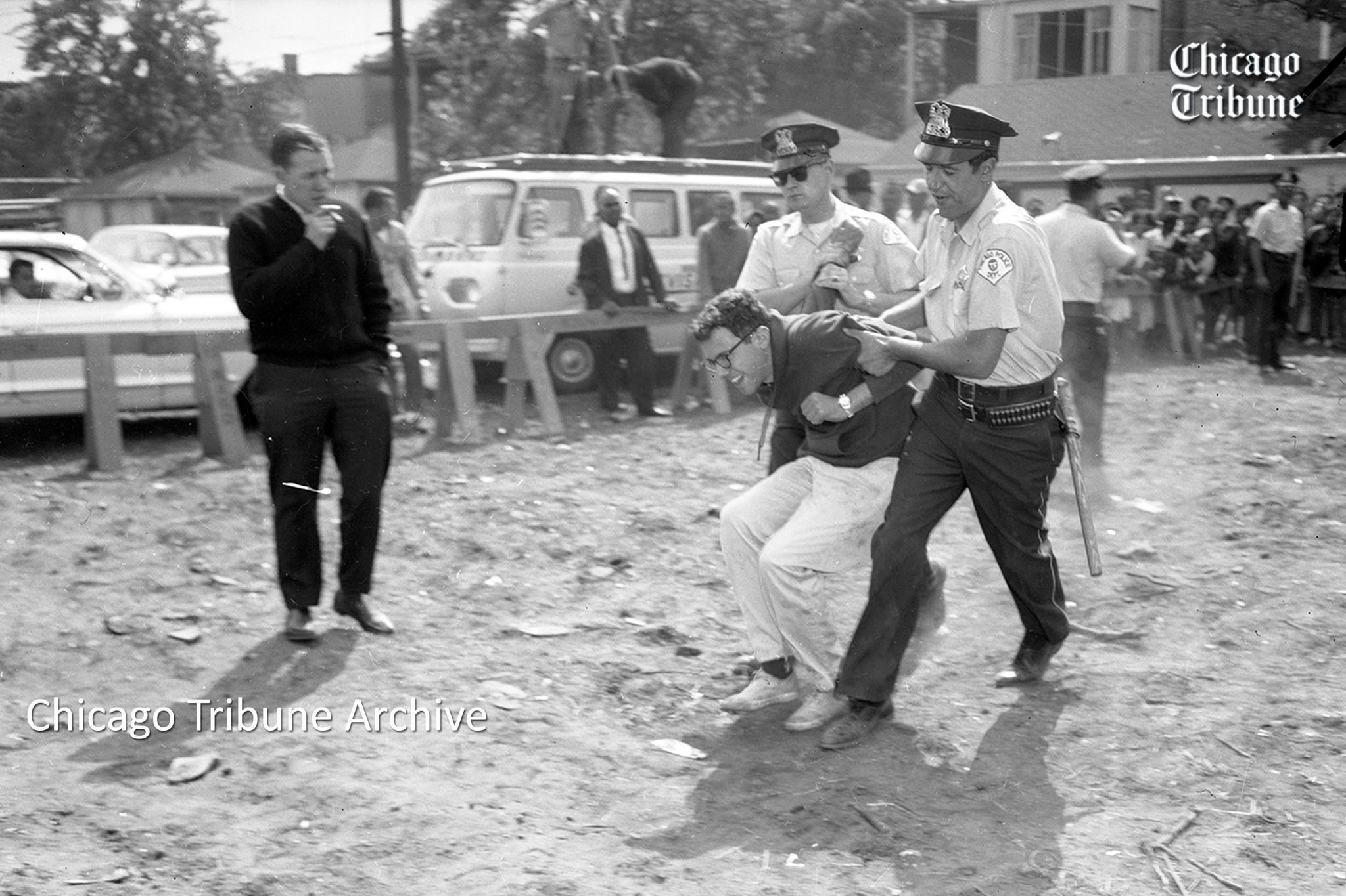 what were willis wagons that got bernie sanders arrested in 1963