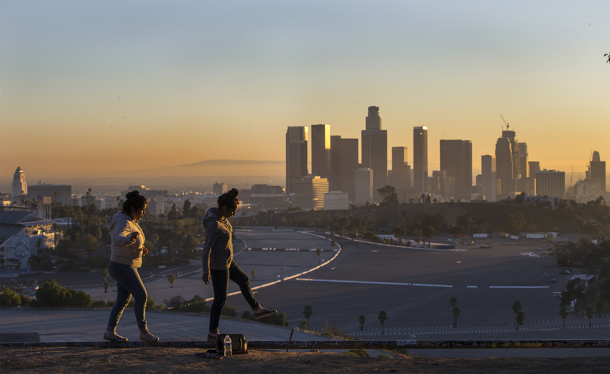 even in sunny l a warming climate may be the next big public