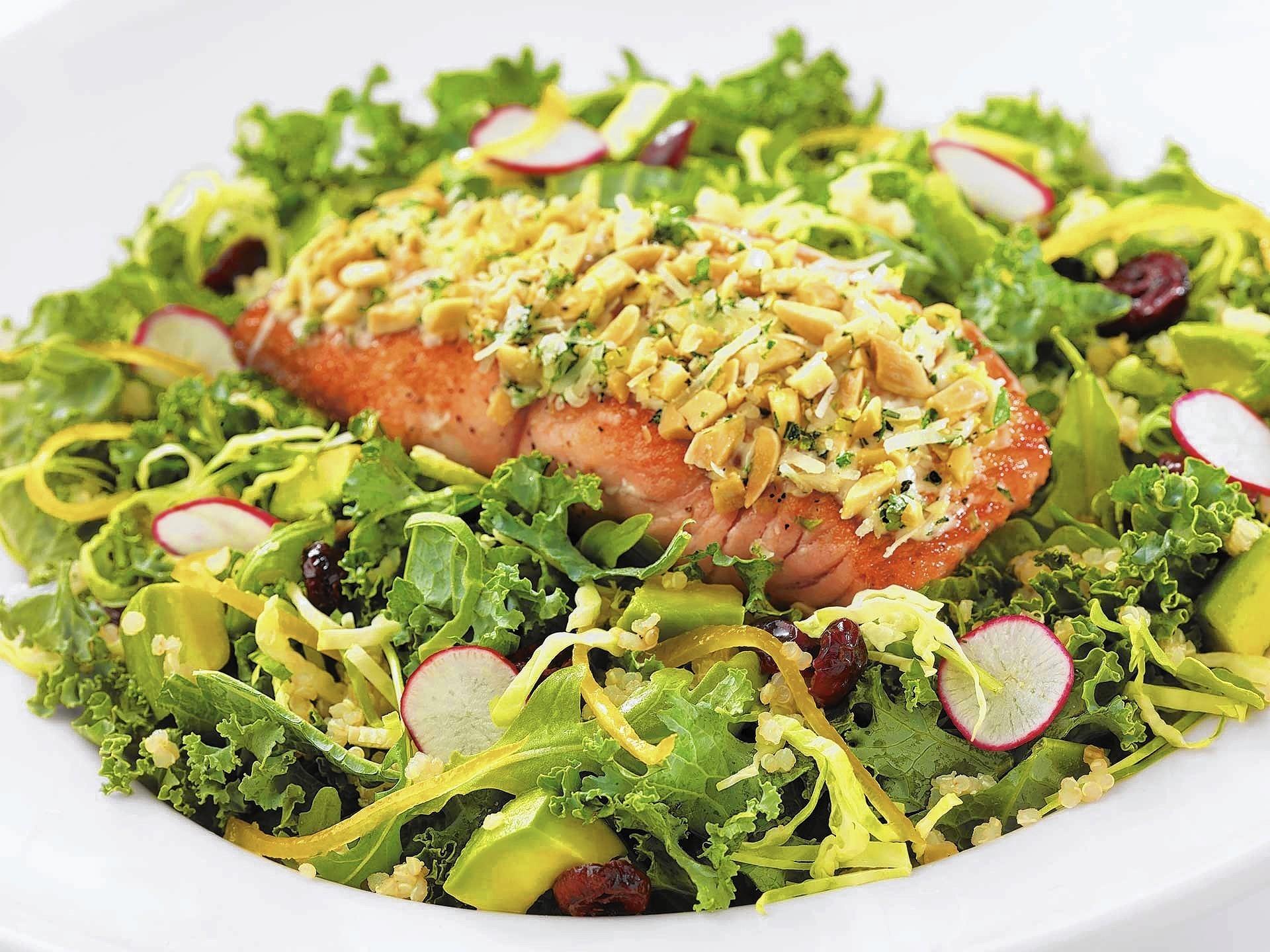 Cheesecake Factory Salmon Salad recipe - Orlando Sentinel