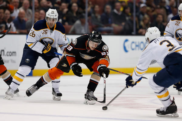 Ducks Have Just Enough Scoring To Beat The Buffalo Sabres, 1-0