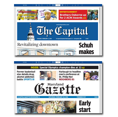 The Capital and Maryland Gazette eNewspapers