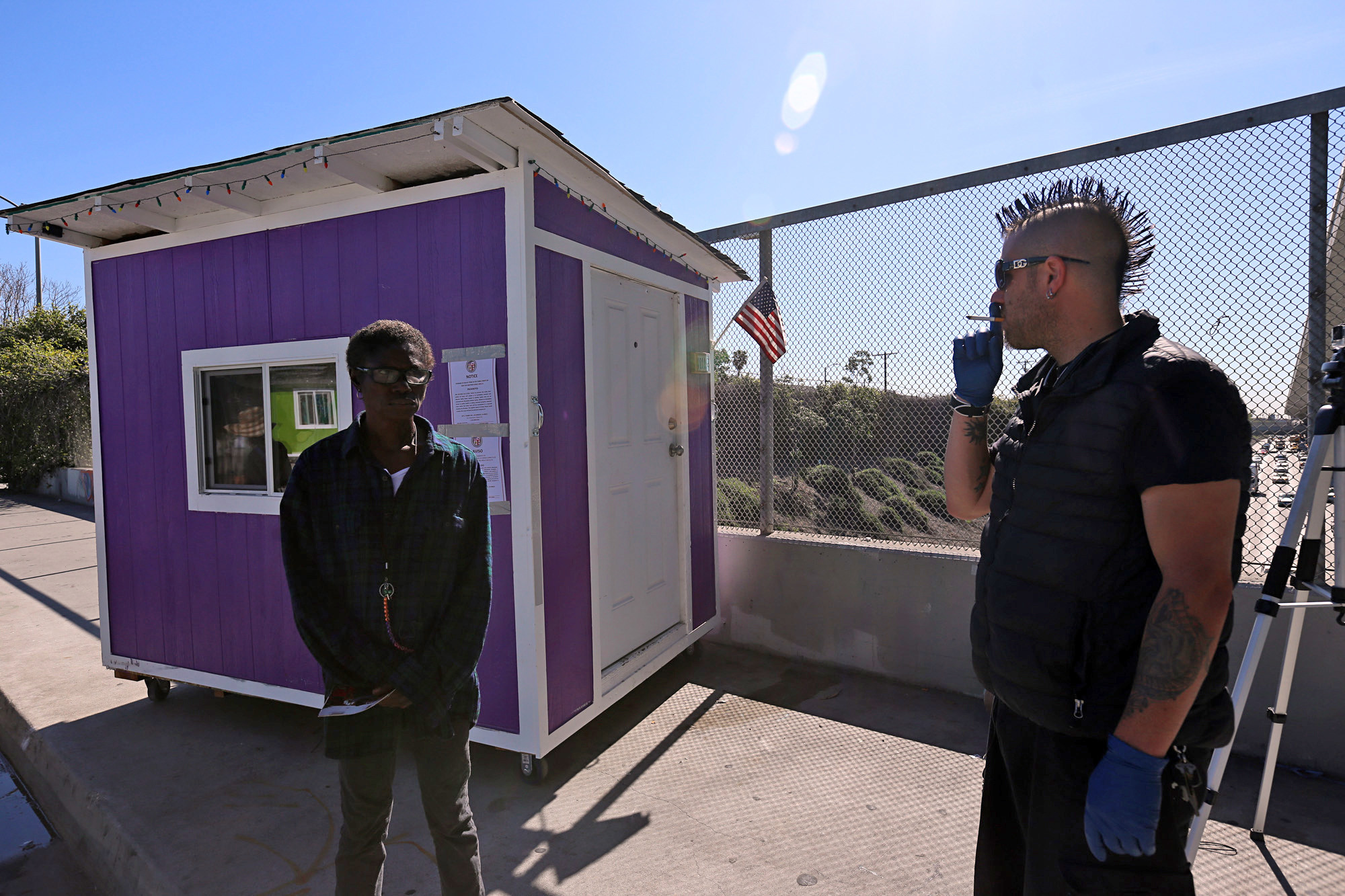 LA is seizing tiny homes from the homeless LA Times