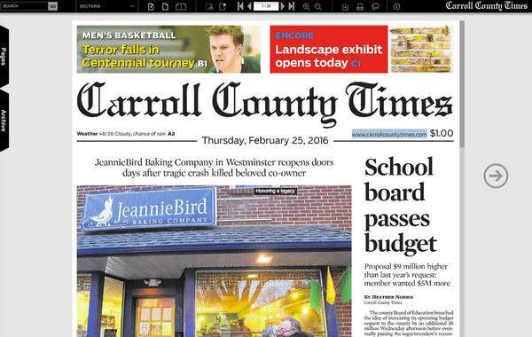 The Carroll County Times eNewspapers