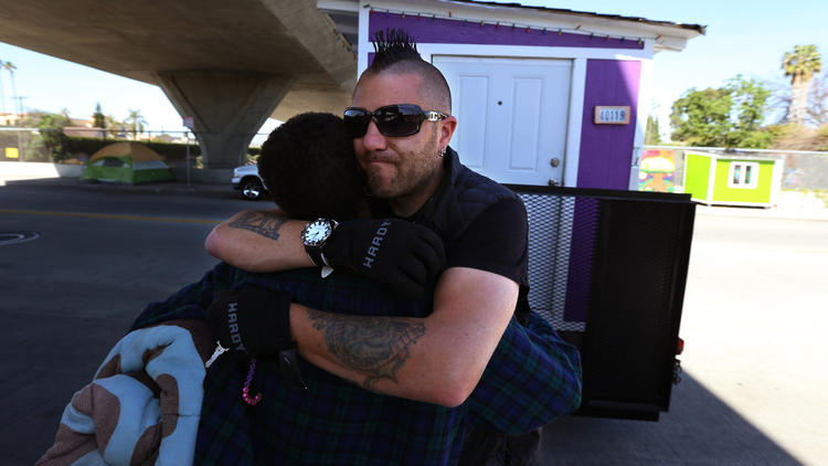 L.A. is seizing tiny homes from the homeless