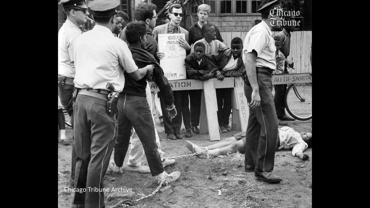 Bernie Sanders Civil Rights Arrest Chicago University Tribune Tyson Manker Veterans