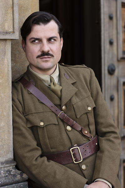 Daniel Pirrie as Major Charles Bryant.