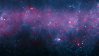 A view of the Milky Way like you've never seen before