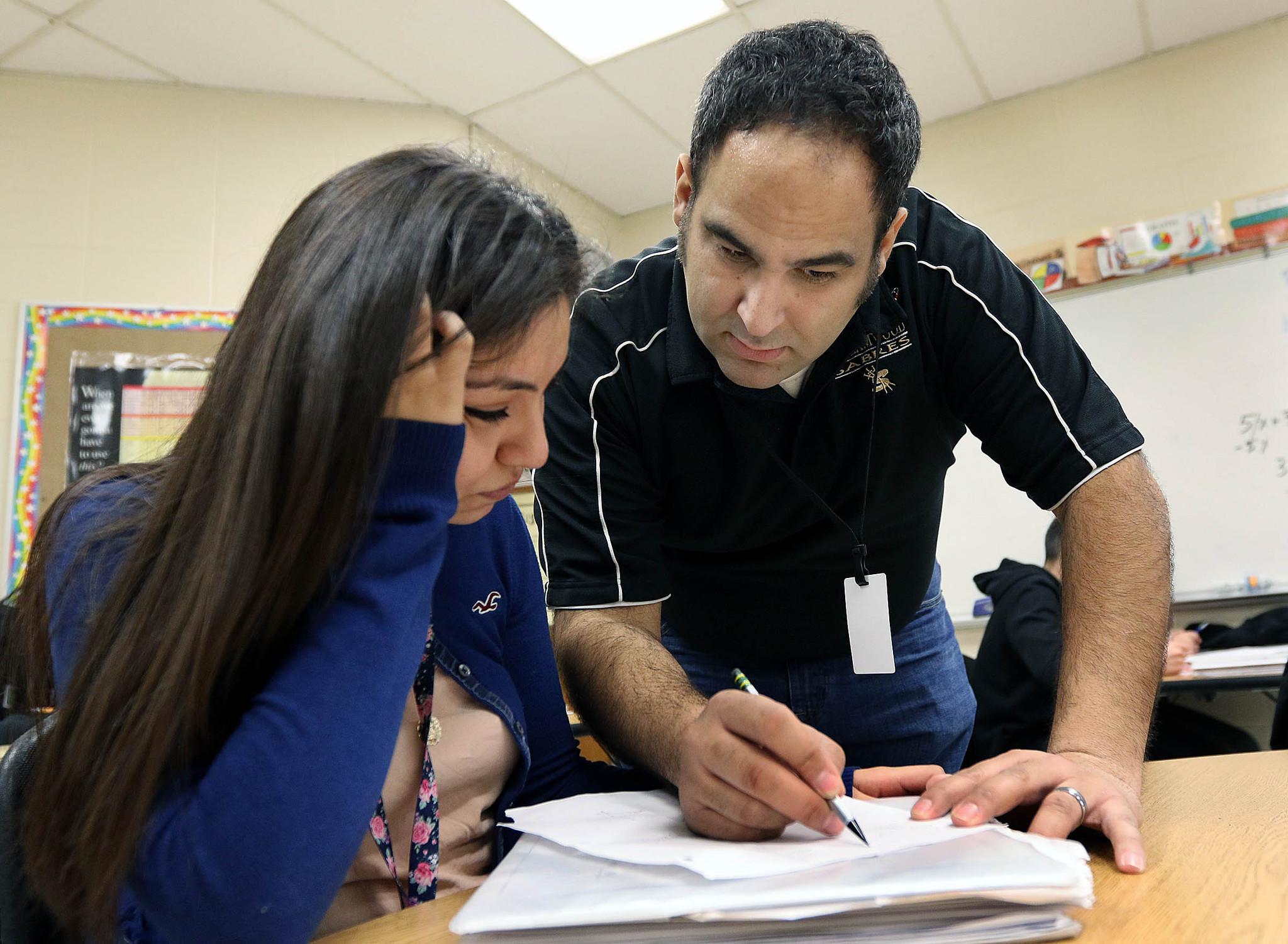 Suburban school districts face challenges diversifying teacher ranks
