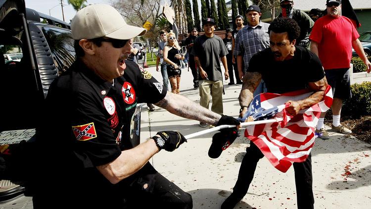 KKK rally in Anaheim