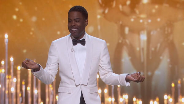 Watch the five best lines from Chris Rock's Oscars monologue