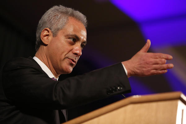 Chicago Mayor Rahm Emanuel. (Antonio Perez / Chicago Tribune)