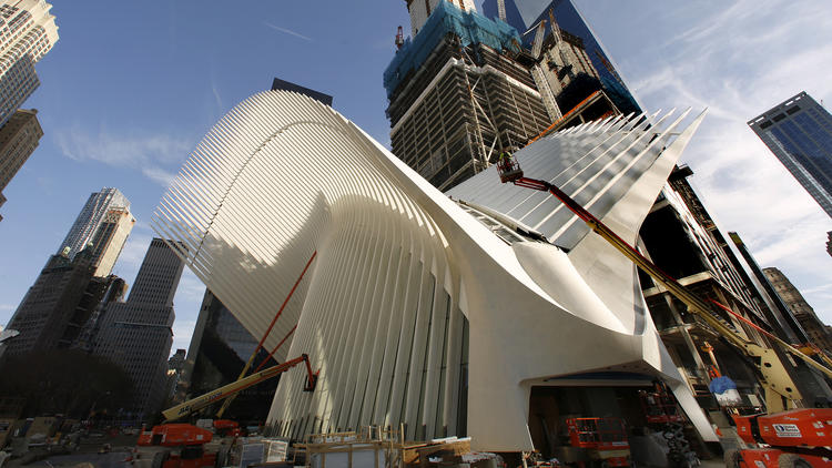 New York's $4-billion transit hub