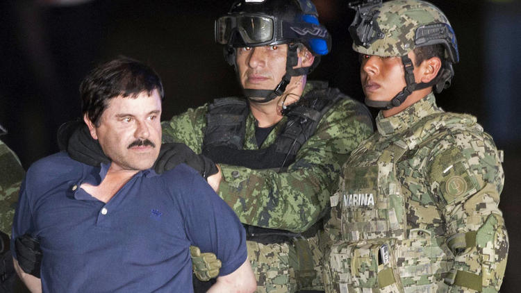 The arrest of El Chapo