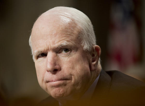 Sen. John McCain (R-Ariz.) (Manuel Balce Ceneta / Associated Press)