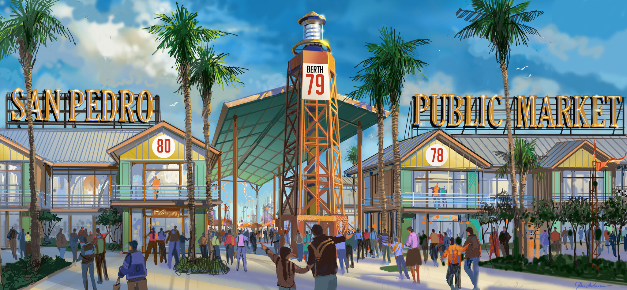 Developers reveal plans for $100-million makeover of Ports O' Call - LA Times