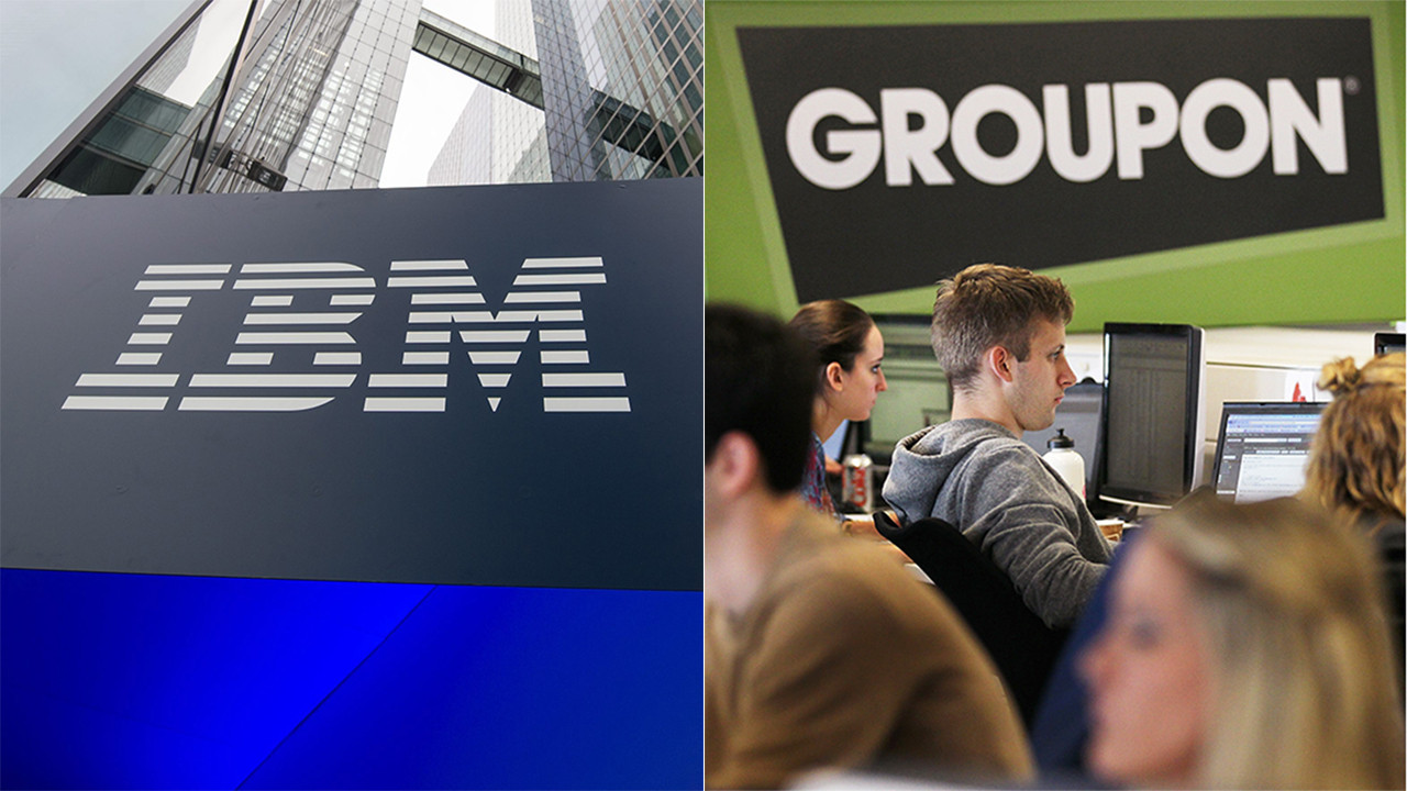 Groupon is focus of IBM's latest patent-infringement suit