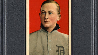 'Miraculous' cache of century-old Ty Cobb baseball cards found in crumpled paper bag