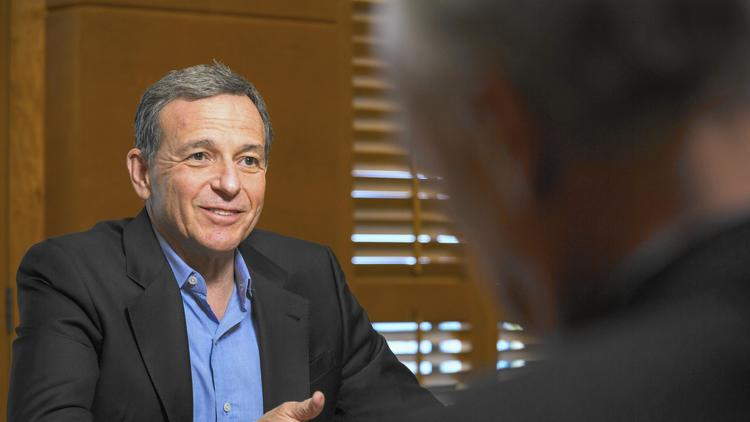 Robert Iger, Walt Disney's chairman and chief executive (Ricardo DeAratanha / Los Angeles Times)