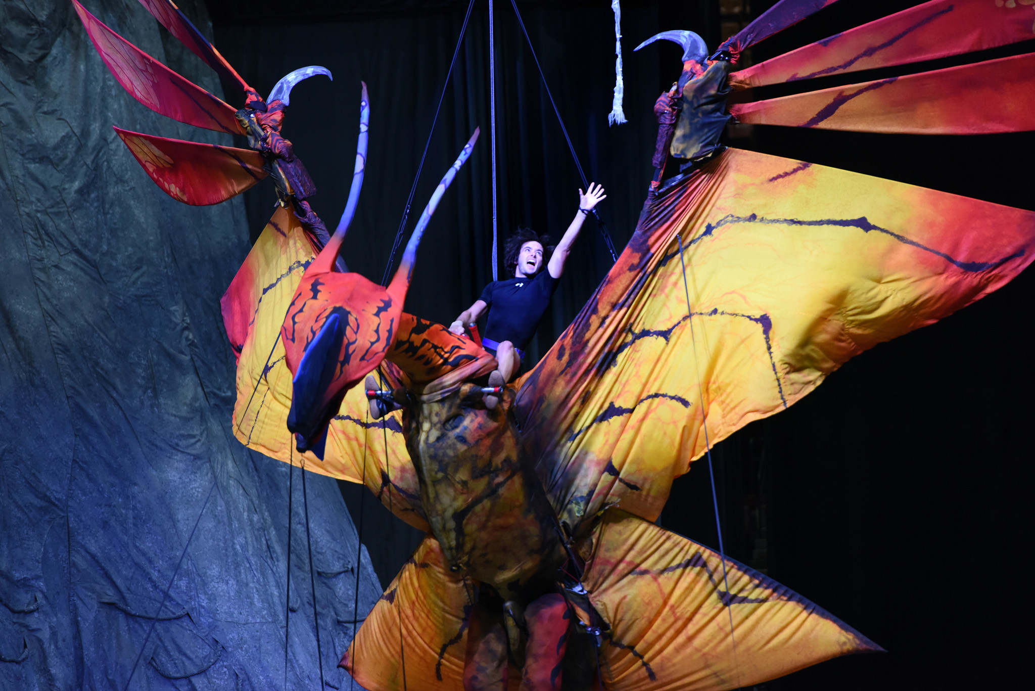 behind-the-scenes of cirque du soleil's toruk - the first flight