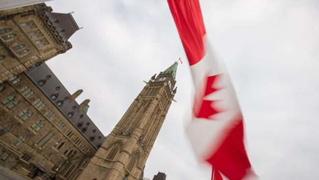 Parliament Hill in Ottawa. (Geoff Robins / AFP/Getty Images)