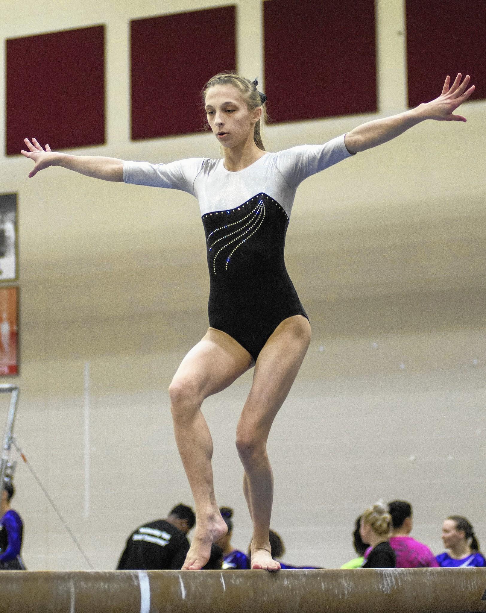 gymnastics spreading Girls gymnastics notes: LaPorte's Sarah Zygmuntowski raises the bar -  Post-Tribune