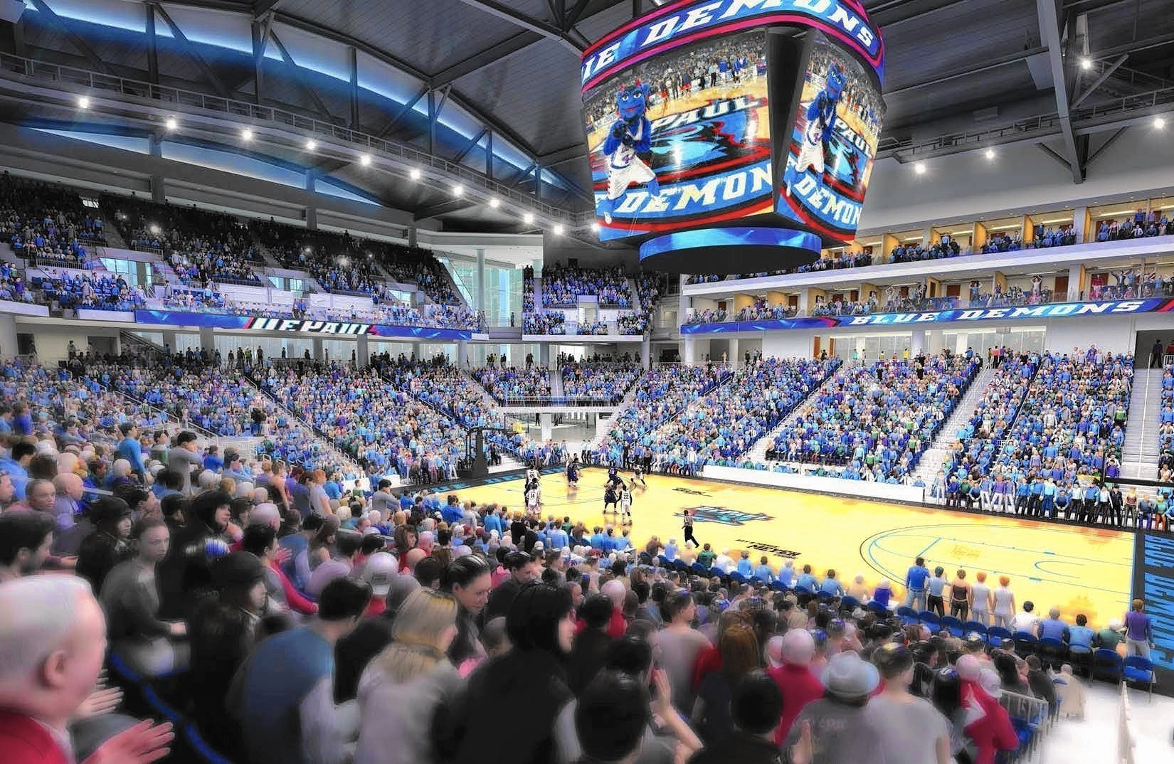 Depaul Stands To Reap 34 Million From Basketball Arena By