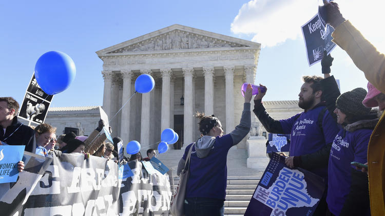 Supreme Court blocks Louisiana law that would restrict abortion providers