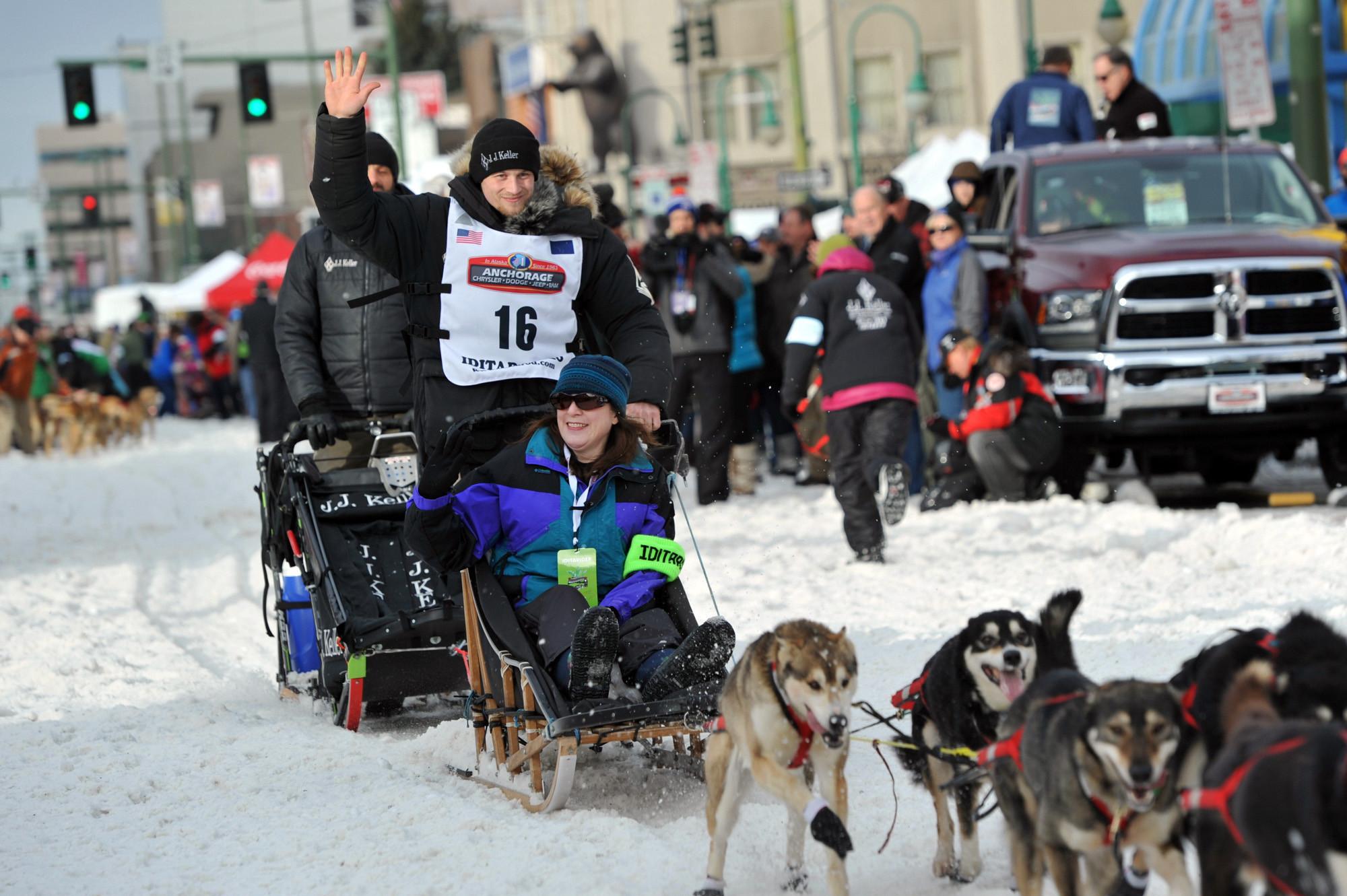 Mushers set off from Alaska town as Iditarod race begins ...