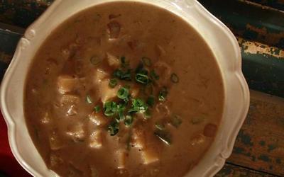 Spiced butternut squash stew