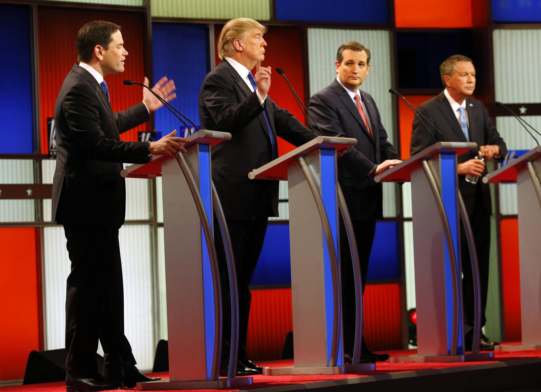 trump leads splintered republican primary field in illinois
