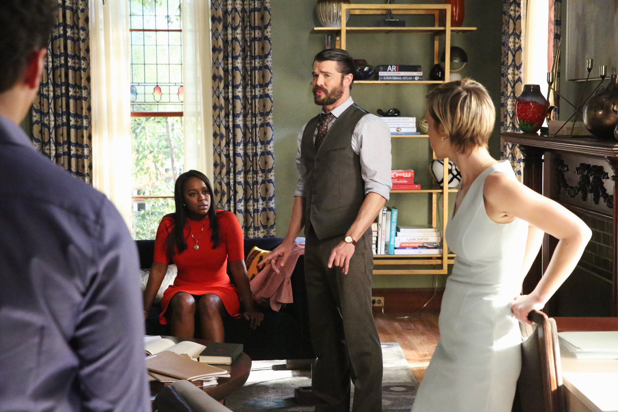 How To Get Away With Murder Recap: Wes Dads Identity And The Truth About  Annalises Baby  Baltimore Sun