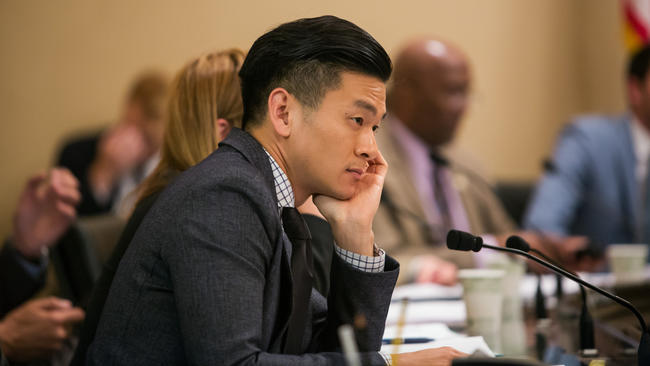 Assemblyman Evan Low (D-Campbell) (Los Angeles Times)