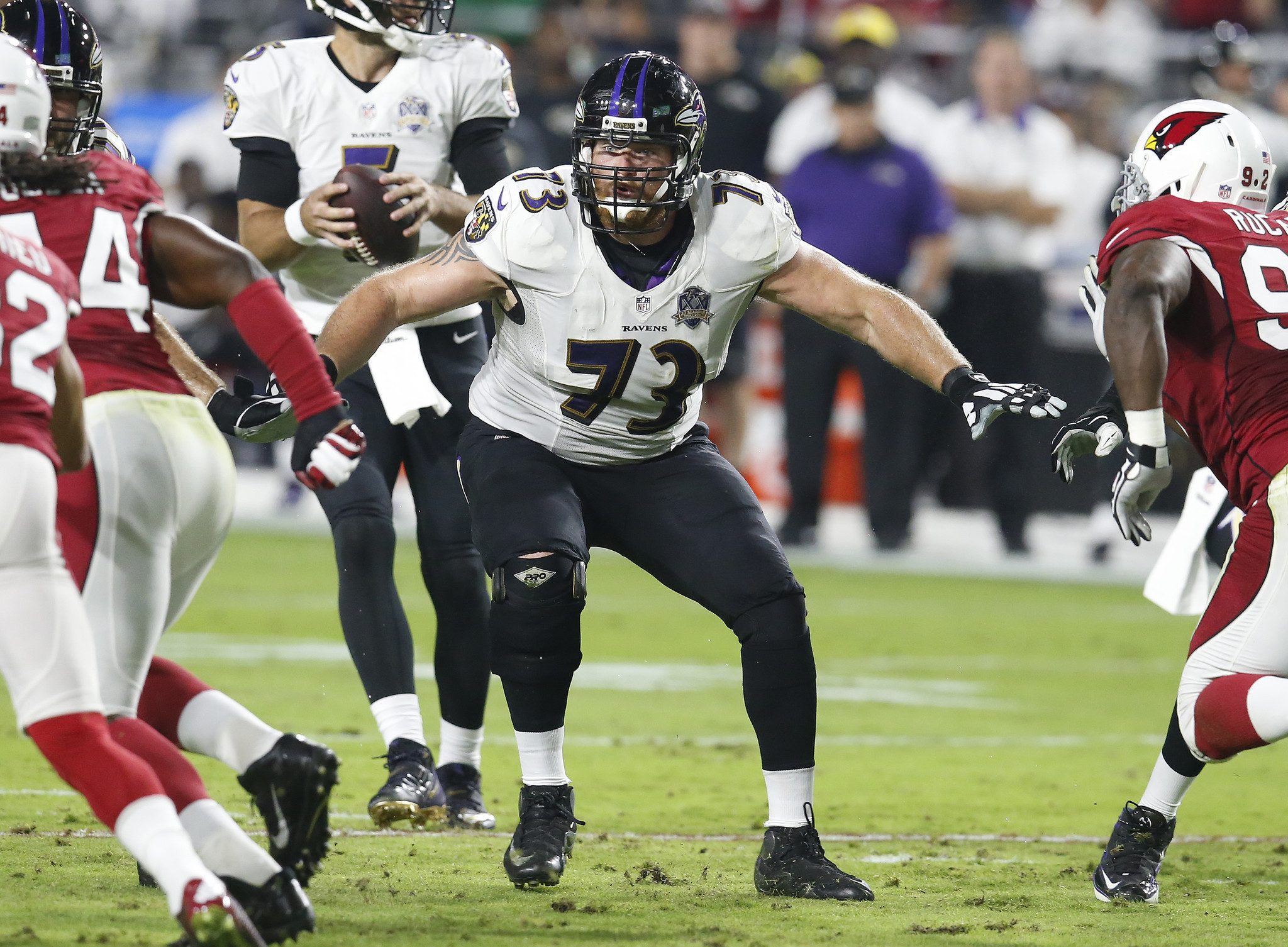 Ravens open up needed salary cap space with Marshal Yanda